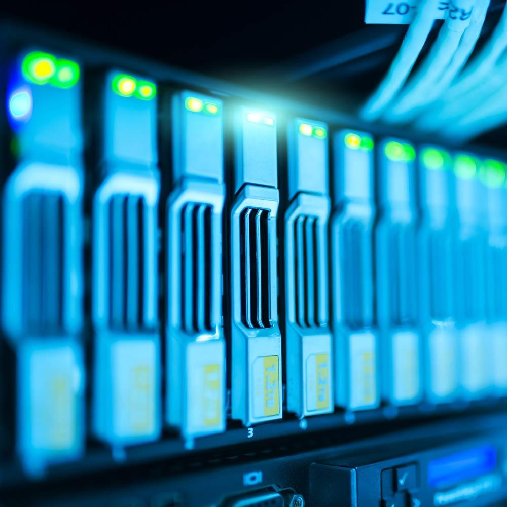 Serveur de données informatiques